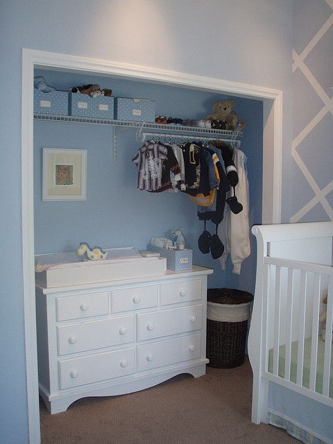 Probably the best thing I did for the kid's room.  it's how we fit a twin bed, a crib, a full dresser, a comfy chair and the baby dresser/changing table in a tiny room.