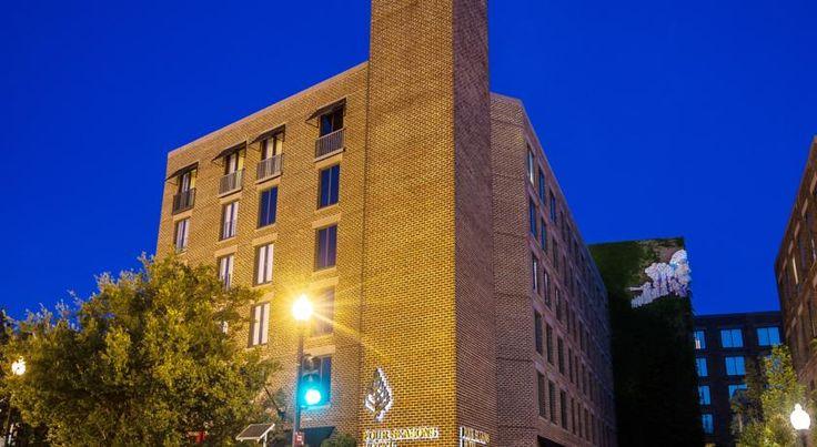 HOTEL|アメリカ・ワシントンのホテル>ホワイトハウスから1.6kmのホテル>フォーシーズンズ ワシントン DC(Four Seasons Washington DC)