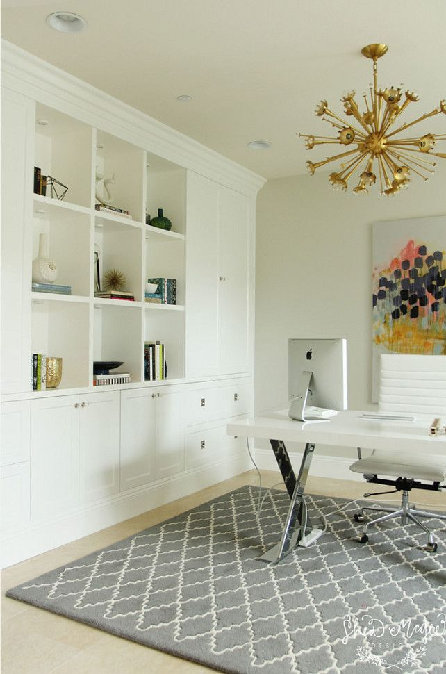 25+ Best Ideas About Office Built Ins On Pinterest | Double Desk