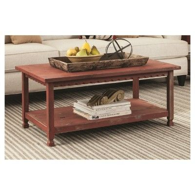 Coffee Table Red, Coffee Table