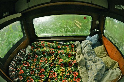 Being a hippie is cozy business.