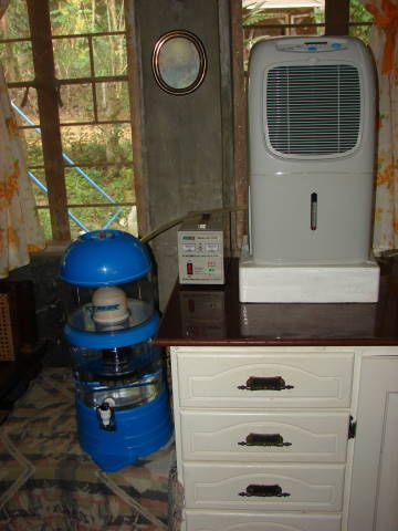 Atmospheric Water Generator Introduction I can't drink the water supplied from our city, and the atmospheric Water generators out there cost more than many can afford. So I made one ...