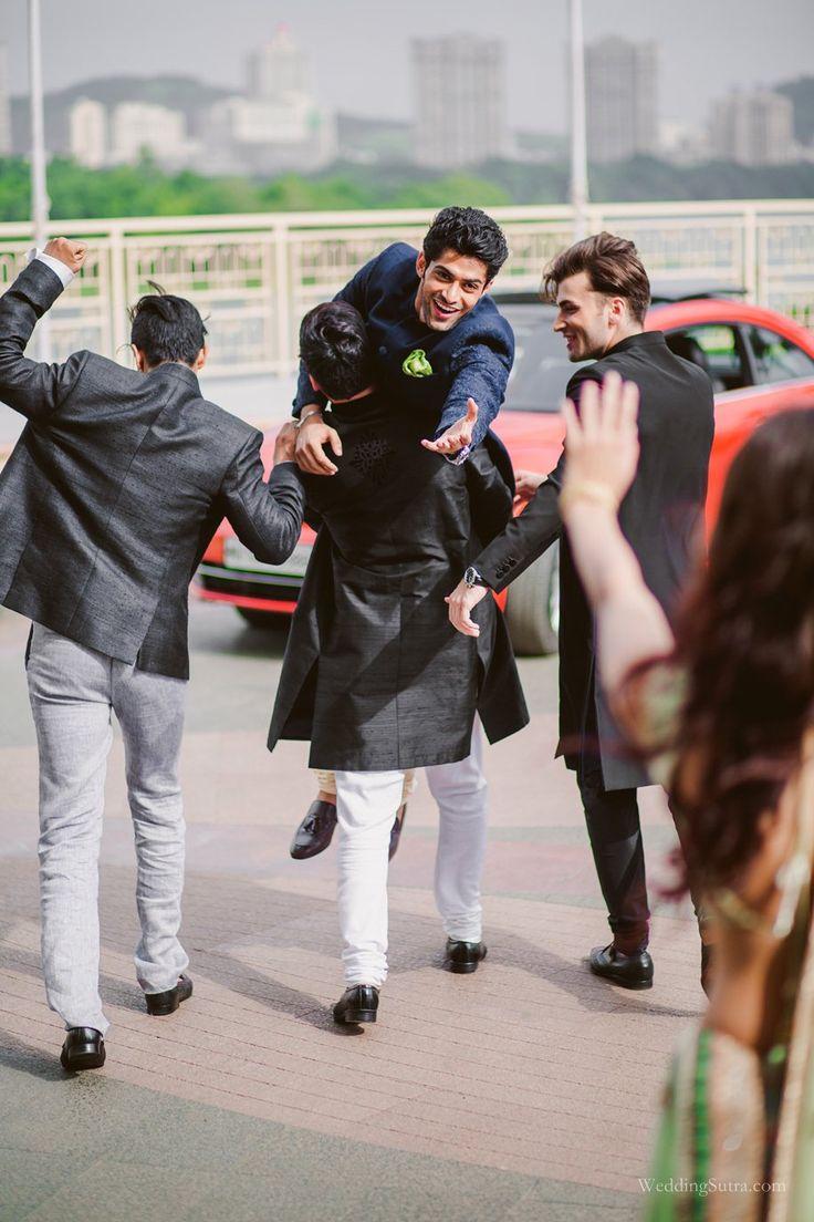 A Stellar Squad of Groomsmen | Groom | WeddingSutra.com
