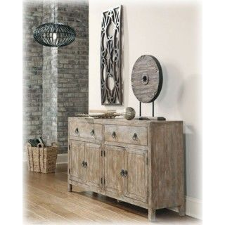Ashley Furniture Signature Design Rustic Accents Accent Cabinet 2 at Big Sandy Superstore