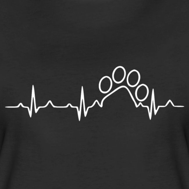 Cat Heartbeat | Women's Premium T-Shirt – Fashion T-Shirts for Europe and USA my Spreadshirt and Shirteeshop