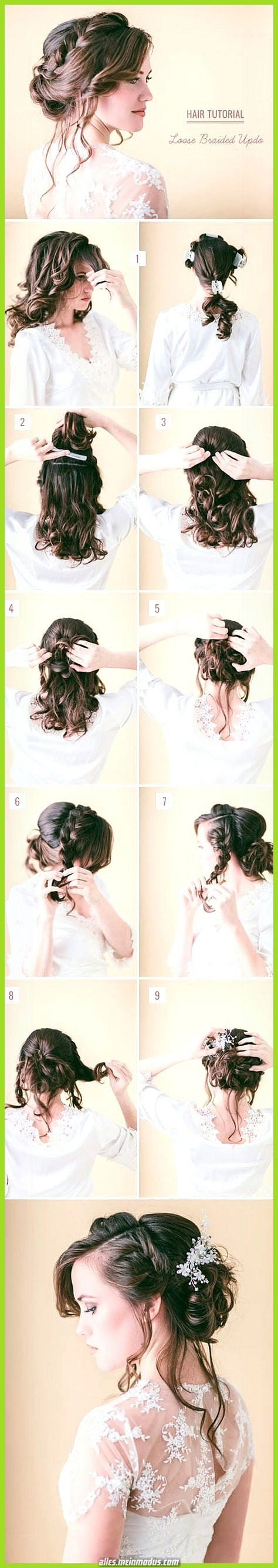 Great DIY hairstyles z. Hd. Your bridesmaids