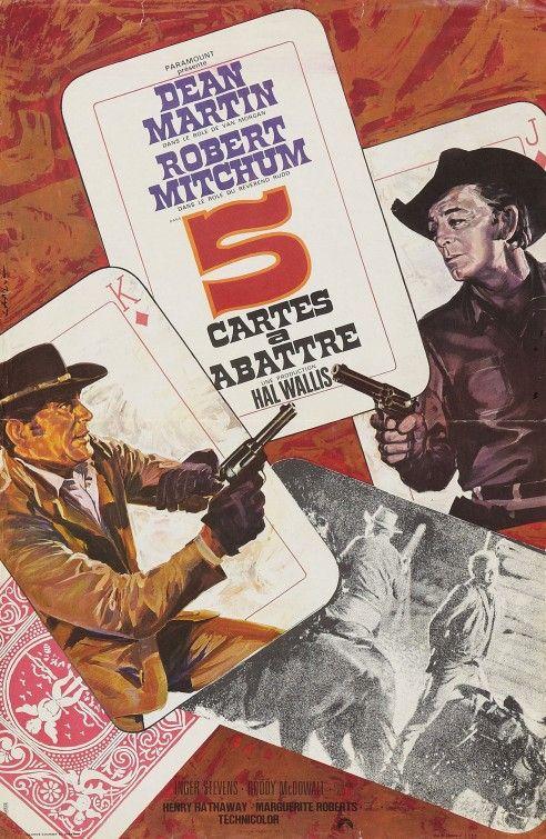 5 Card Stud (1968) directed by: Henry Hathaway starring: Dean Martin, Robert Mitchum, Inger Stevens, Roddy McDowall