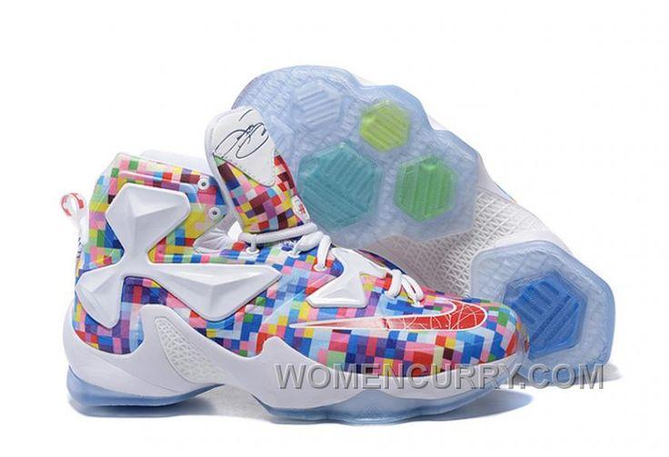 "https://www.womencurry.com/lastest-nike-lebron-13-prism-multicolor-university-redwhite-basketball-shoes.html LASTEST NIKE LEBRON 13 ""PRISM"" MULTI-COLOR/UNIVERSITY RED-WHITE BASKETBALL SHOES Only $88.07 , Free Shipping!"