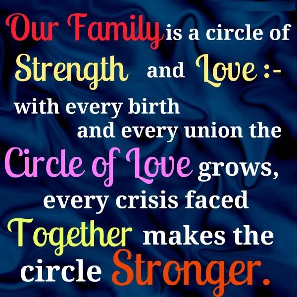 Quotes About Family Love And Strength : Family Quotes Quotes On Family Strength My Quotes Home - Quotes ...