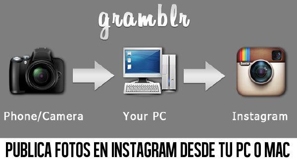 Cómo subir fotos a Instagram desde tu PC o Mac