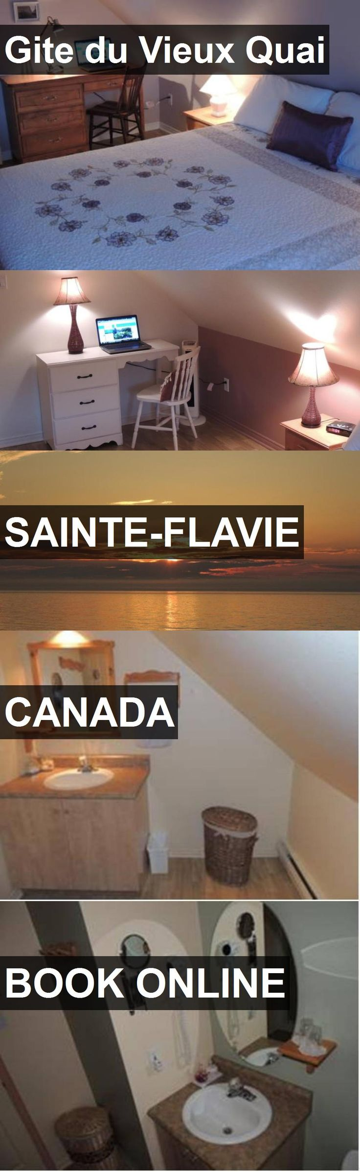 Hotel Gite du Vieux Quai in Sainte-Flavie, Canada. For more information, photos, reviews and best prices please follow the link. #Canada #Sainte-Flavie #GiteduVieuxQuai #hotel #travel #vacation