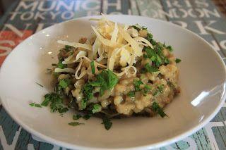 Ada w kuchni: Kaszotto/Pęczotto czyli risotto z pęczaku z jarmuż...