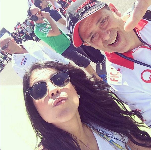 Con @salvatoremotogp en grilla de partida deseándole lo mejor a @yonny68 @MERC #argentina