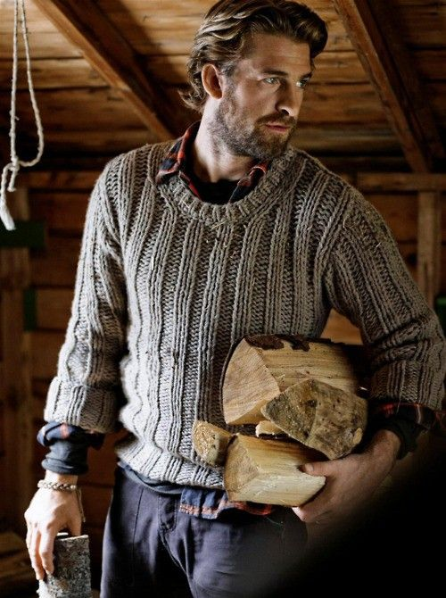 Mountain man (although I'm pretty sure this is Scott Speedman playing a mountain man).