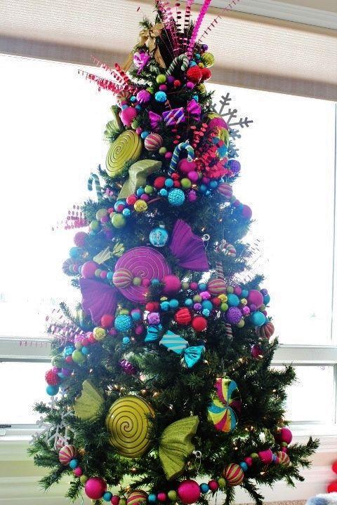 Pink,Whimsical,Colorful,Christmas
