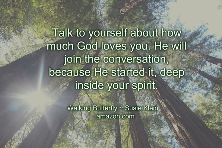 Recovering Church Lady: Talk To Yourself...