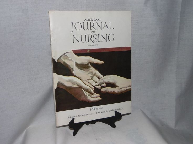 December 1970 American Journal Of Nursing Magazine