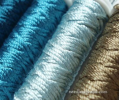 Soie de Paris hand embroidery silks! Getting ready to start a project with these...