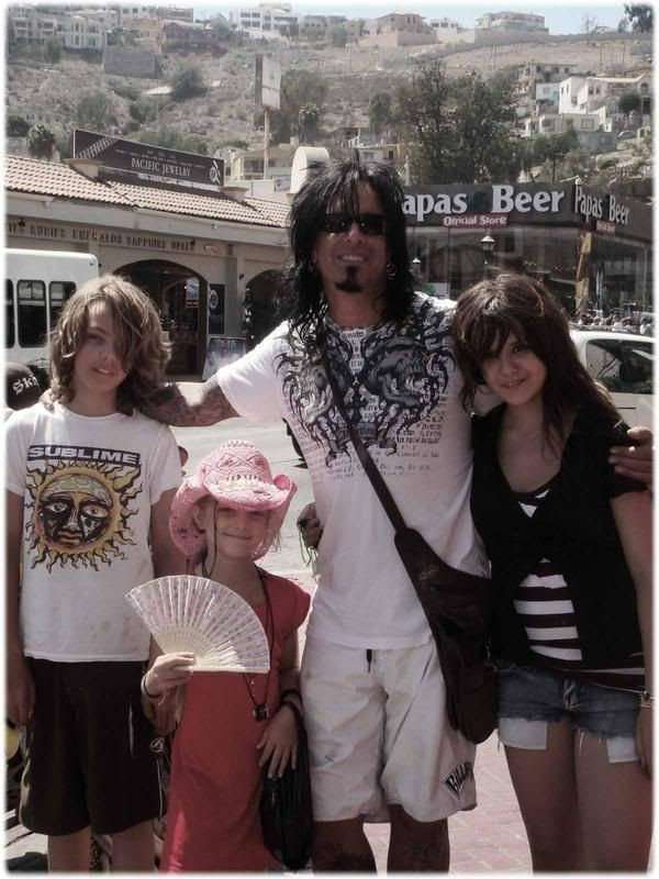 Nikki Sixx And His Kids Photo: This Photo was uploaded by