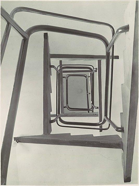 Stairwell, View from Below.  Albert Renger-Patzsch /    Date:      ca. 1929