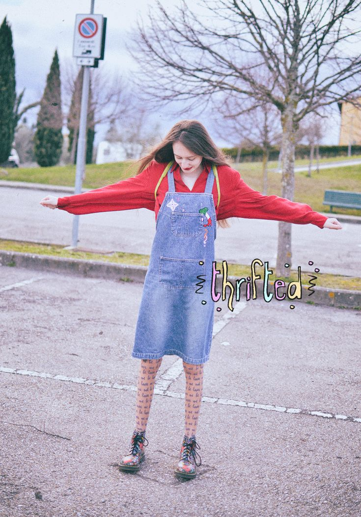 Sustainable Outfit Ideas - Upcycling, Embroidery & Second-hand Clothes
