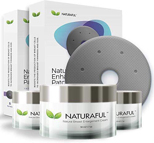 Best Seller NATURAFUL – Enhancement & Enlargement Starter Kit   TOP RATED Breast Enhancement Creams – Natural Breast Enlargement, Firming Lifting Patch   Trusted Over 100,000 Users & Includes Handbook online
