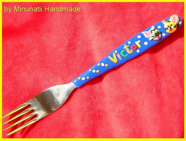 cutlery polymer clay