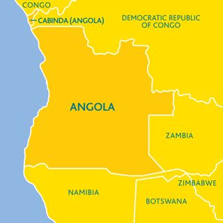 where is angola - Google Search