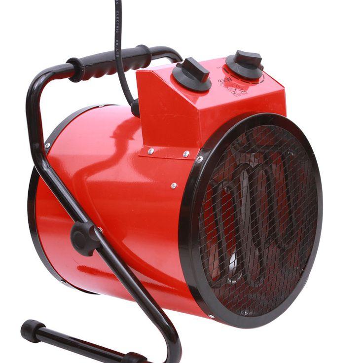 Haute-puissance ménage thermostat industriel chauffe Chaud air blower Fan Vapeur chauffe réchauffeur d'air Électrique appareil de chauffage