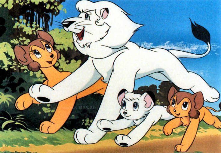 Leo The Lion Vintage Anime Google Search Kimba The