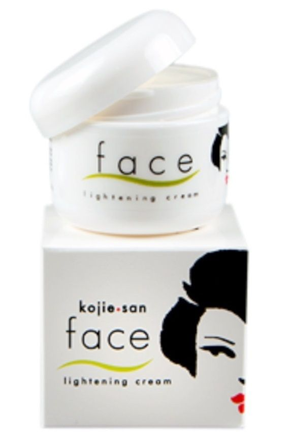 Kojiesan Face Lightening Cream Features: an intensive yet nourishing formula. It is light and non-greasy. It contains blend of natural extracts and high grade all-natural Kojic Acid which is known for its remarkable whitening effect. It helps lighten the skin and reduce and prevent the formation of dark spots while it restores skin suppleness. It also moisturizes the skin and brings the about healthy, rosy skin.