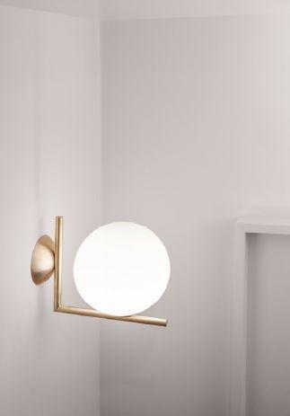 Michael Anastassiades' IC C/W Light in brass.