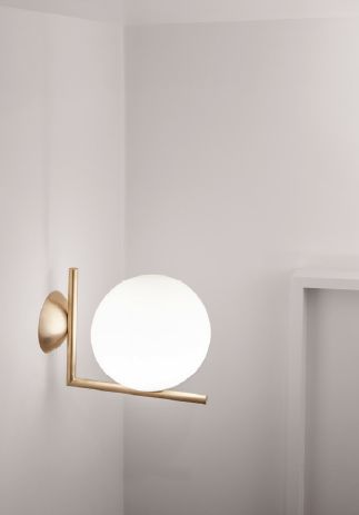Michael Anastassiades' IC C/W Light in brass. @flosuk #lighting #metallic…