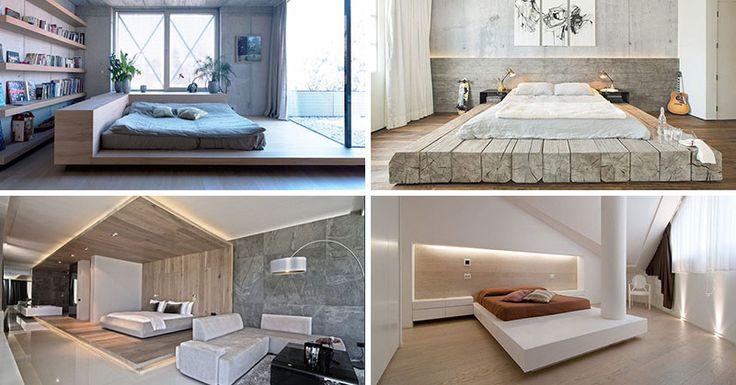 Bedroom Design Idea - Place Your Bed On A Raised Platform | CONTEMPORIST