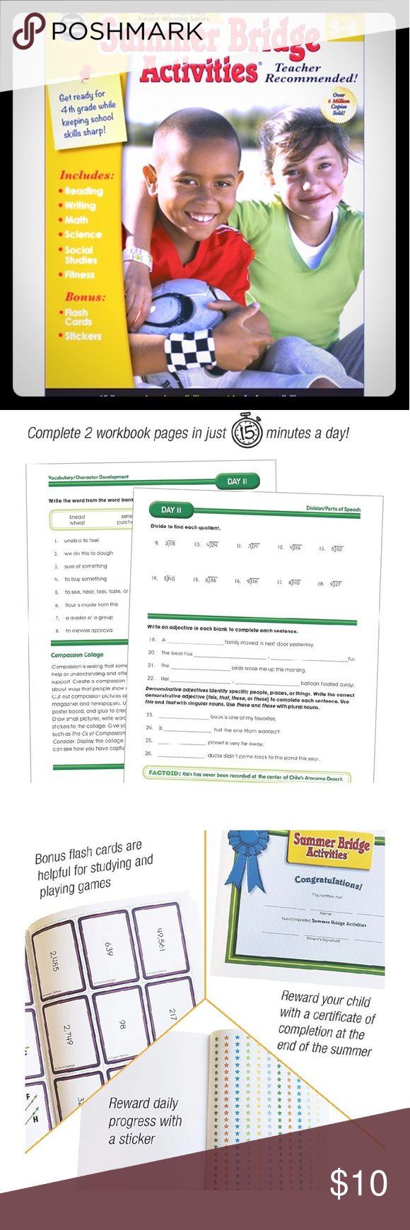 Educational Workbook 3rd-4th Grade   Activity workbook ...