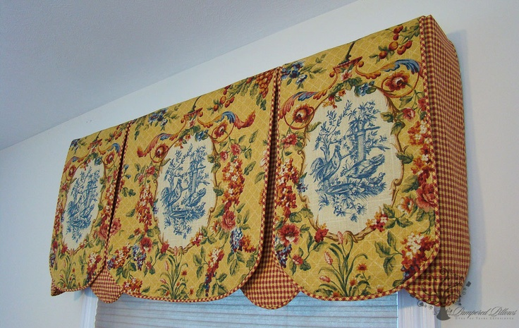 Window Valance Waverly Rooster W Plaid Window