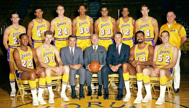 1968-69 Los Angeles Lakers Roster