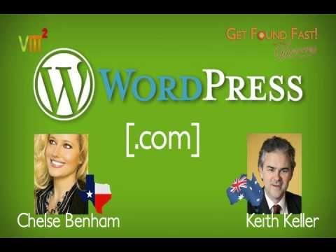 Wordpress com (Video) #Wordpress #Blogging #Videos #GetFoundTV #GetFoundFast
