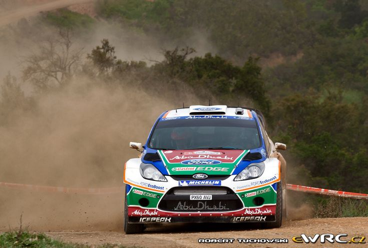 2011 Mexico: Mikko Hirvonen, Ford Fiesta RS WRC, 4th