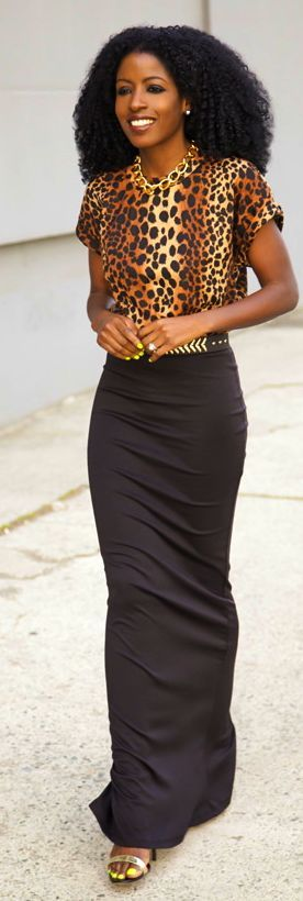 Shoxie Leopard Contrast Tee Dress by Style Pantry