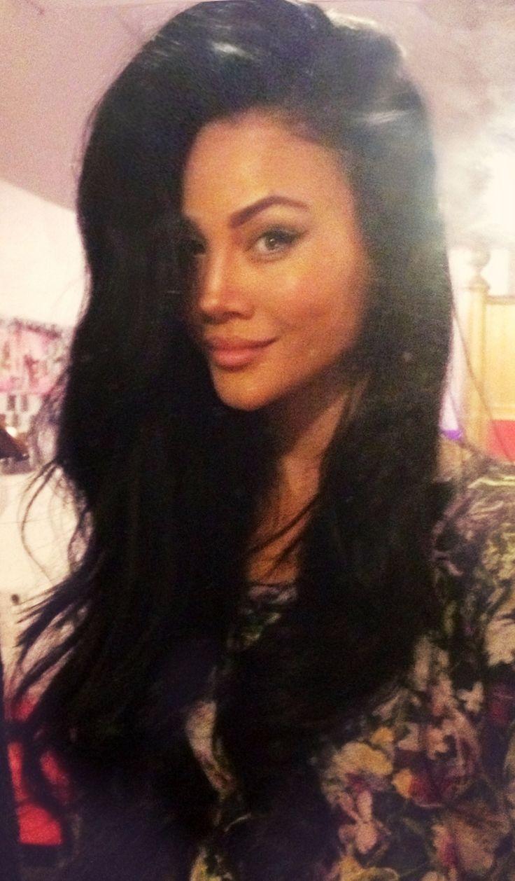 Voluminous hairstyles for long hair - Long Black Hair