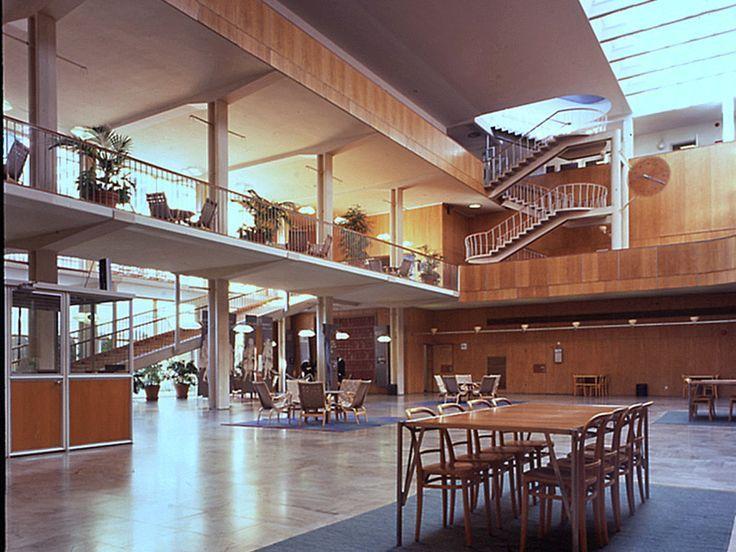Gothenburg Law Courts Extension Architect Erik Gunnar Asplund Completed 1937