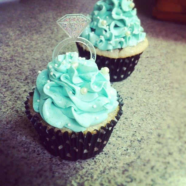 Lindsey's Bridal Shower cupcakes