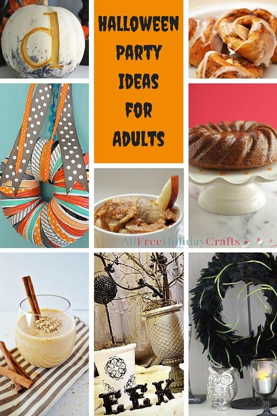 45 Halloween Party Ideas for Adults   AllFreeHolidayCrafts.com