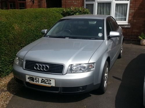"""FOR SALE - 2001 Audi A4 1.8 Turbo (petrol) 16"""" aluminium wheels with winter tyres & 17"""" aluminium wheels with summer tyres. Sports pack; cd player; air con; great condition - e-mail blogsandpictures@gmail.com"""