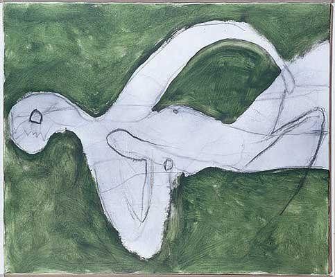 Roger Hilton 1911-1975 Green Grass, 1968