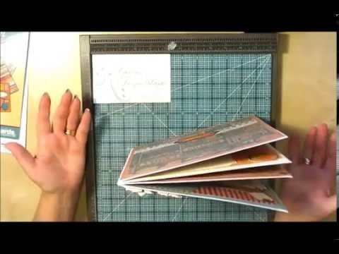 Super Quick 8x8 Envelope Scrapbook Album - YouTube