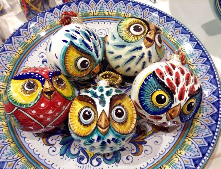 Christmasball by Ceramiche Sberna - Deruta - Italy