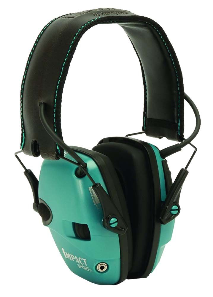 Howard Leight Impact Sport Electronic Ear Muff - Olive or Teal