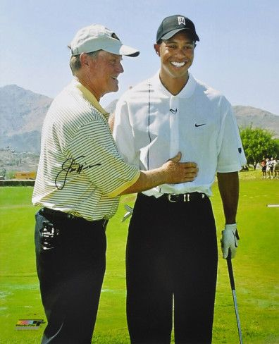 Jack Nicklaus with Tiger Woods, #golf #jack_nicklaus